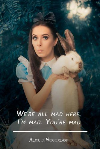 We are all mad here. I am mad. You are mad #lewiscarroll #quote