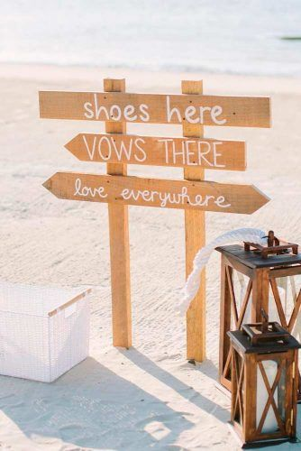 No Shoes, No Problem! #creativeideas #outdoorwedding