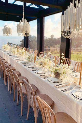 Gold, Ivory, and Beige #wedding #summerwedding