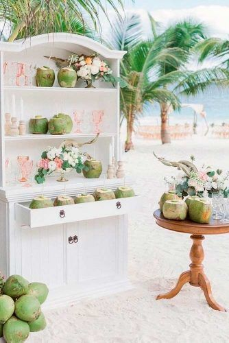 Refreshing Mini Bar #outdoorwedding #minibar