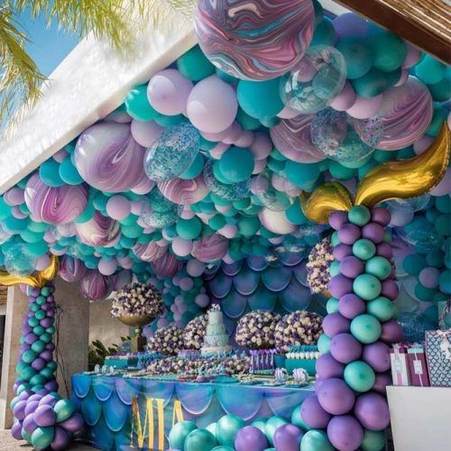 Mermaid Birthday Party Theme #mermaidparty