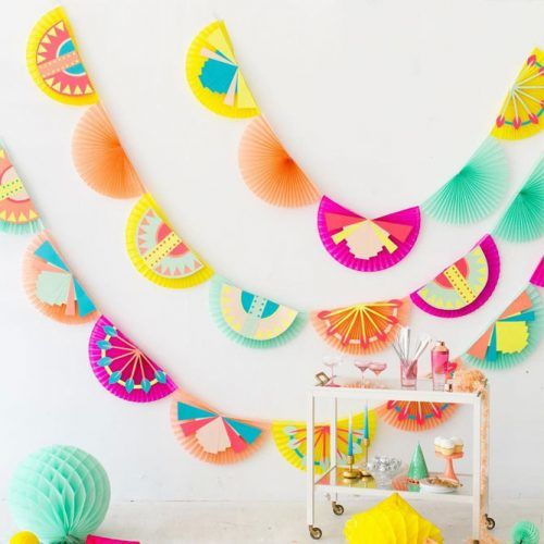 Paper Garland Idea #papergarland