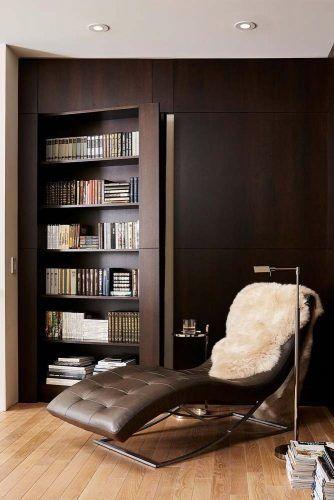 Hidden Door Bookcase Design #hiddenbookcase