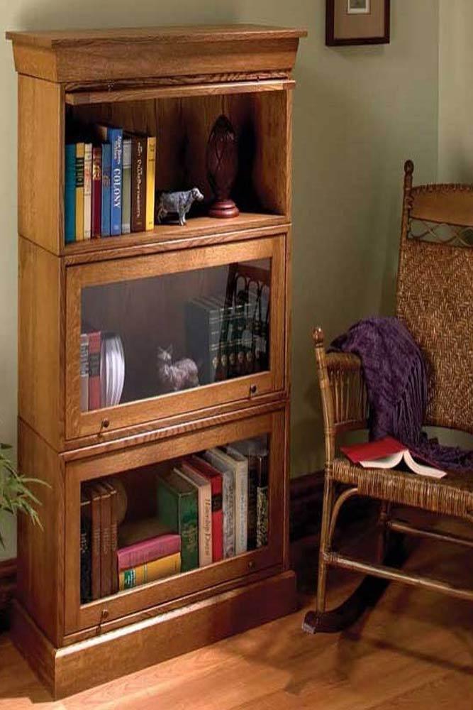 Barrister Bookcase Idea #vintagebookcase