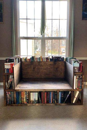 Chair Bookcase Design #bookchair