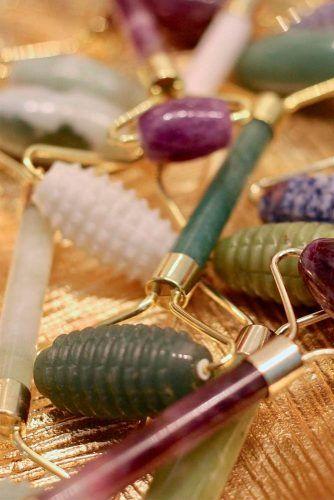 GooMart 2-Pack Jade Rollers #skincare #beautyrips