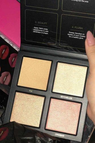 Huda Beauty 3D Palette #hudahighlighter