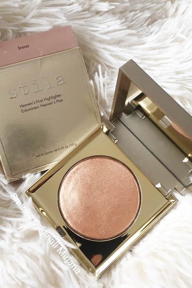 Stila Heaven's Hue Highlighter In Kitten #stilahighlighter