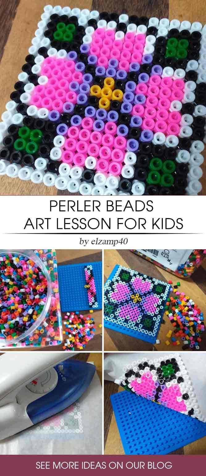 Perler Beads Art Lesson #perlerartlesson