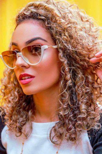 Spiral Perm #blondehair #curlyhairstyles