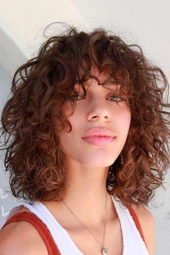 Is Perm Suitable For Your Hair Type? #wavyhairstyles #shaggyhair