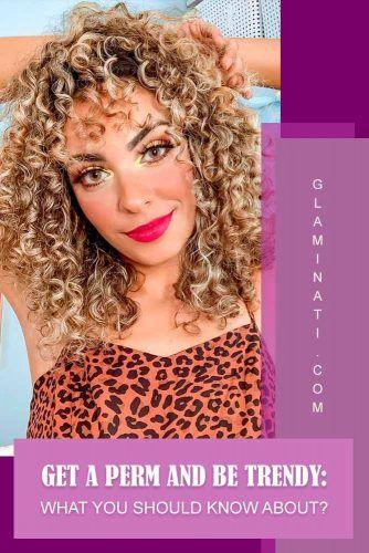 Spiral Perm #curlyhair #blondehair