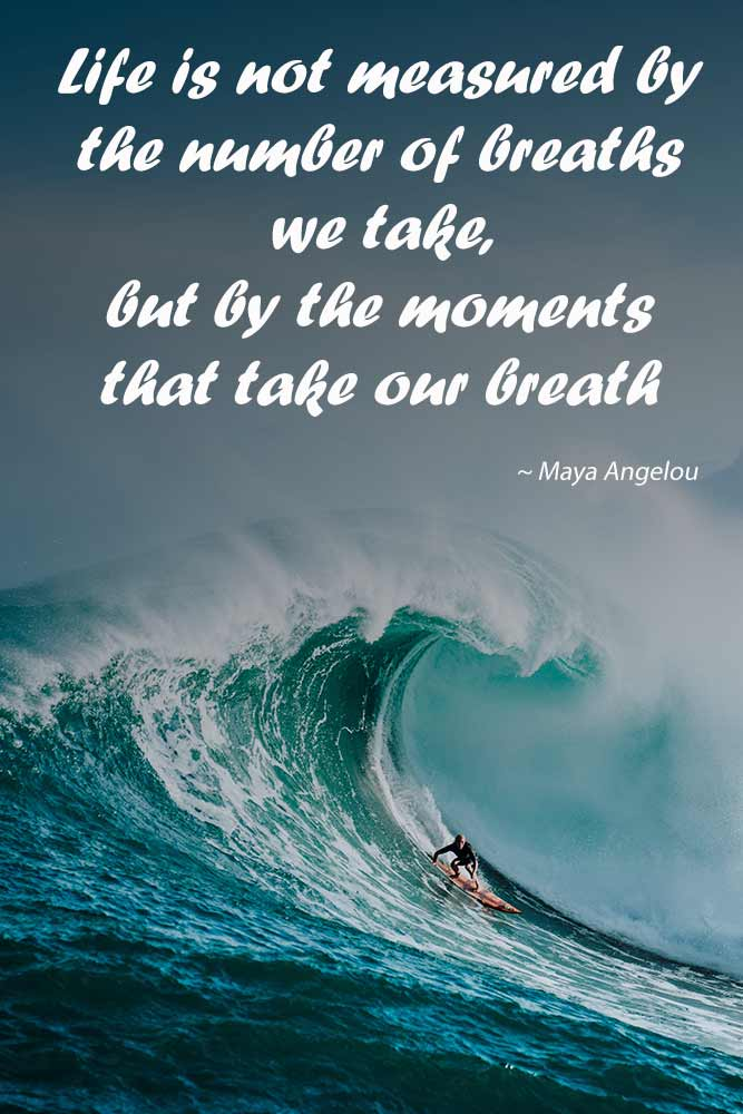 Life is not measured by the number of breaths we take, but by the moments that take our breath away #love #qoutes #life