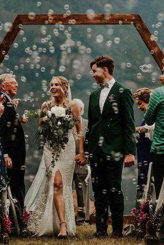 Wedding Photos With Bubbles #love #wedding