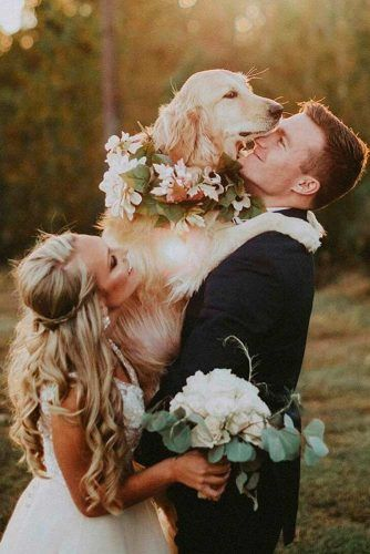Include Your Pet In Wedding Photos #love #wedding