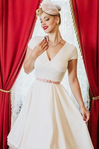White Cocktail Dress #bridaldress