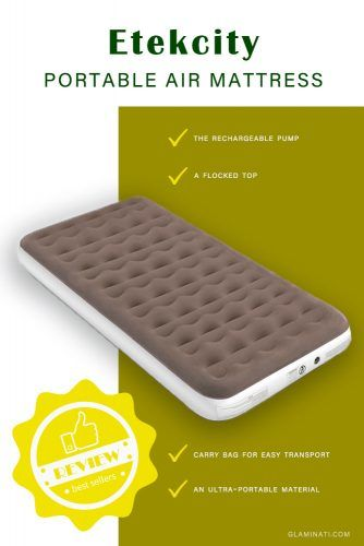 Etekcity Portable Air Mattress #airbed