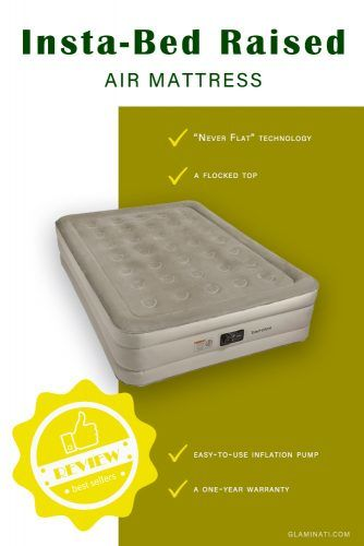 Insta-Bed Raised Air Mattress #airbed