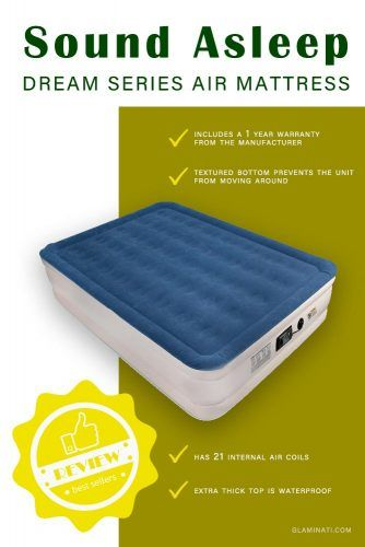 SoundAsleep Dream Series Air Mattress #airbed #soundasleep