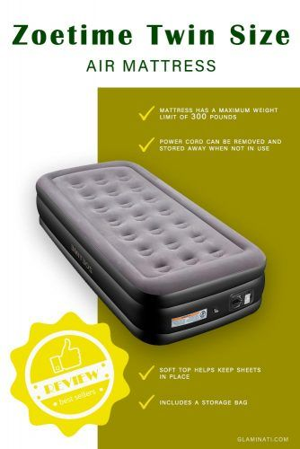 Zoetime Twin Size Air Mattress #airbed