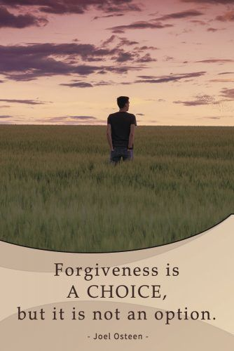 Forgiveness is a choice, but it is not an option #quotes #relationship