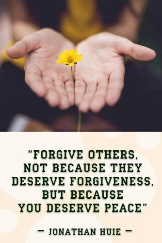Forgive others, not because they deserve forgiveness, but because you deserve peace #quotes #relationship