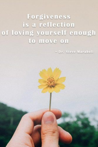Forgiveness is a reflection of loving yourself enough to move on #quotes #relationship