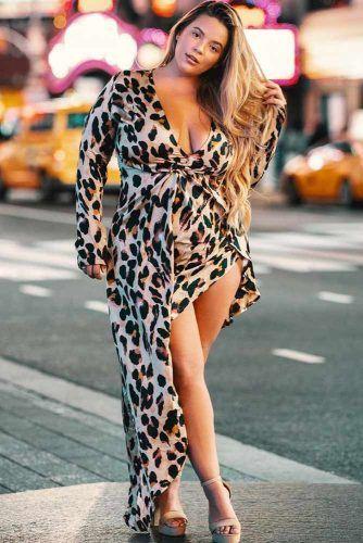 An Asymmetrical Leopard Print Dress Design #leoparddress #printdress