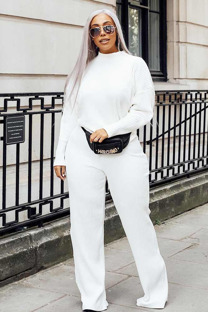 A White Suit Outfit #whitesuit