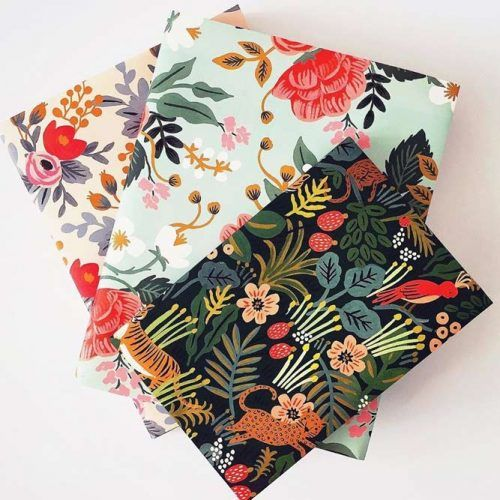 DIY Book Cover School Supplies #bookcover #floralprint
