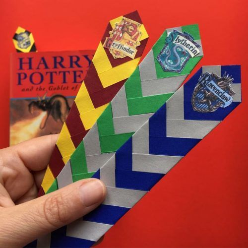 Harry Potter Bookmarks School Supplies #harrypottertheme #bookmarks