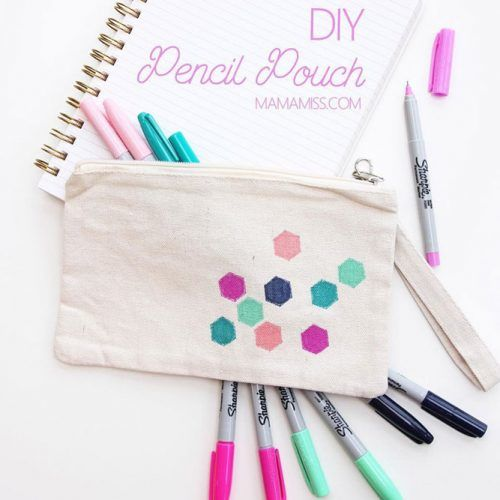 DIY Pencil Pouch #pencilcase #patterncase