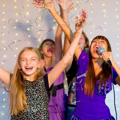 Karaoke Night Party Idea #karaoke #partyactivity