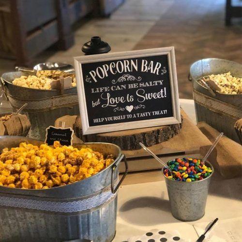 Popcorn Bar #popcornbar