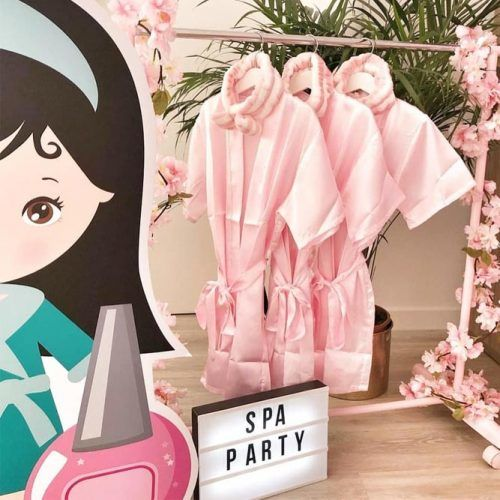 Home Spa Party Idea #spapartyidea