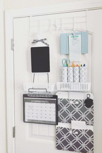 Over The Door Organizer #doororganizer #stufforganizer