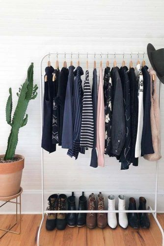 Shoes And Clothes Organization Idea #clothesorganizer #shoesorganizer