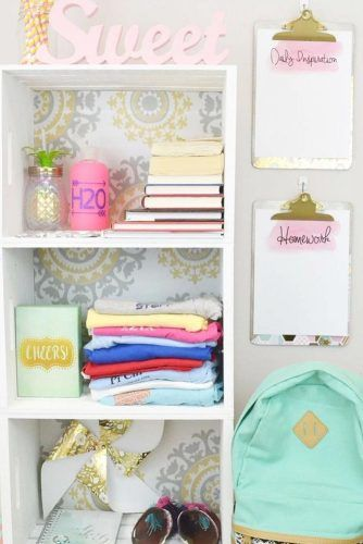 Shelves Storage Space And Wall Paper Planners #spaceorganizer #wallplanner
