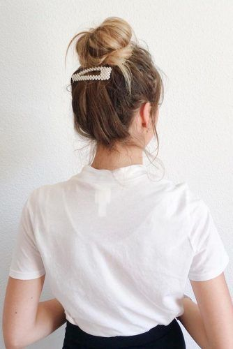 Easy Casual Hairstyles #casualhairstyles #hairaccessories