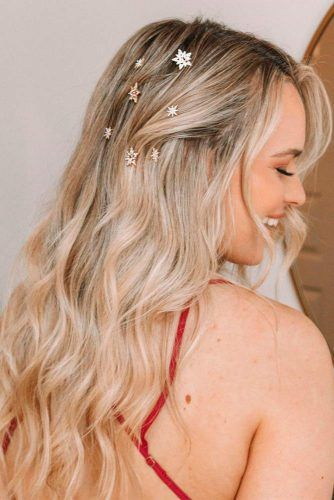 Sweet And Girly #prettyhairstyles #hairaccessories