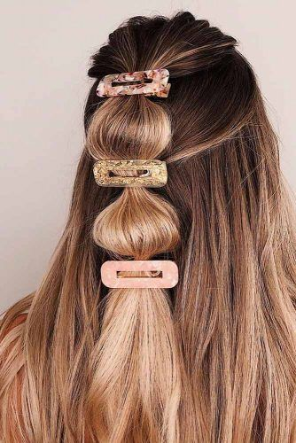 Classic Hinged Barrettes #prettyhairstyles #hairaccessories