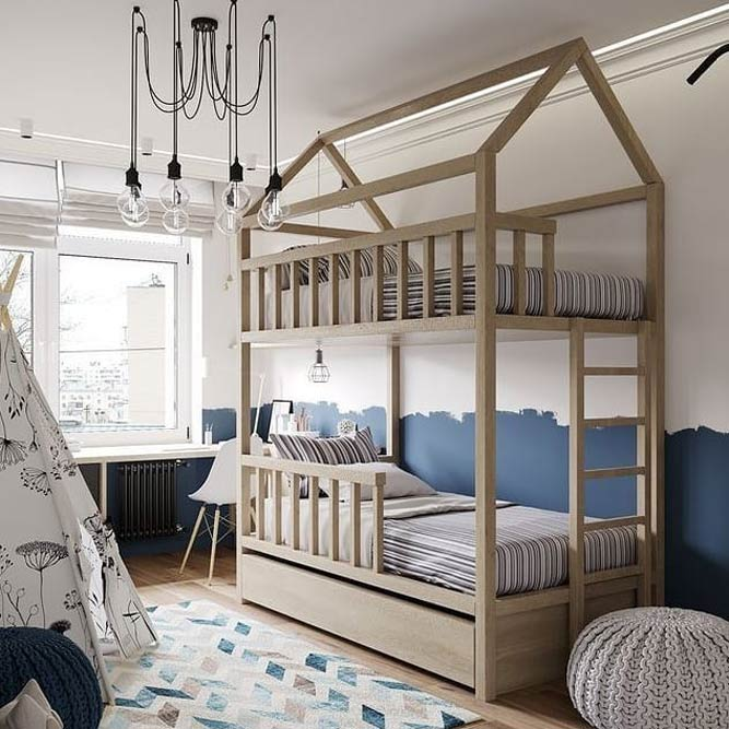 What Is A Good Age For A Loft Bed? #woodenframe #woodenbed