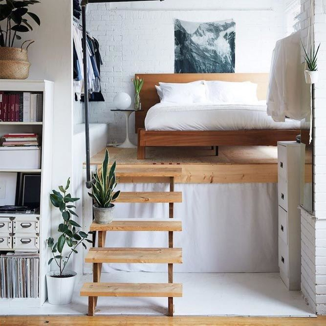 Lofted Bedroom Idea For Small Space #smallroom