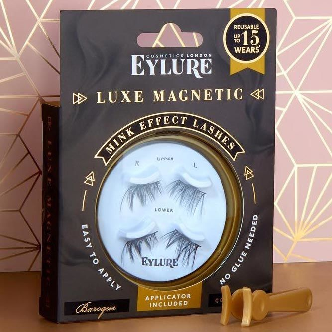 Eylure Magnetic Lashes #bestmagneticeyelashes #rewiesbrand