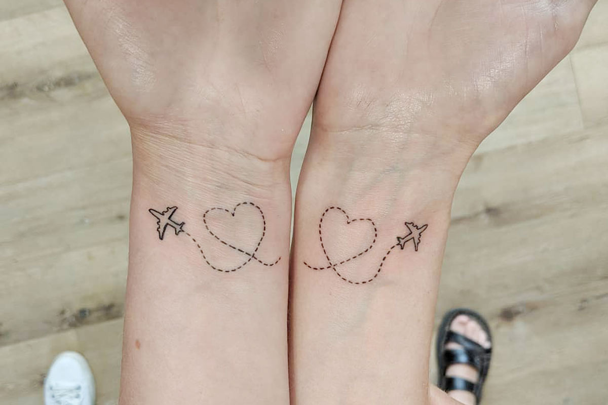 Unbelievable Cute And Meaningful Best Friend Tattoos