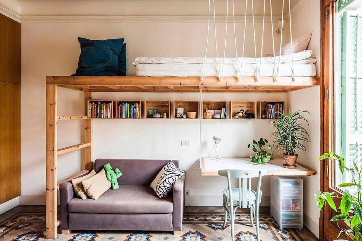Loft Bed Examples That Will Add Peculiar Charm To Your Interior