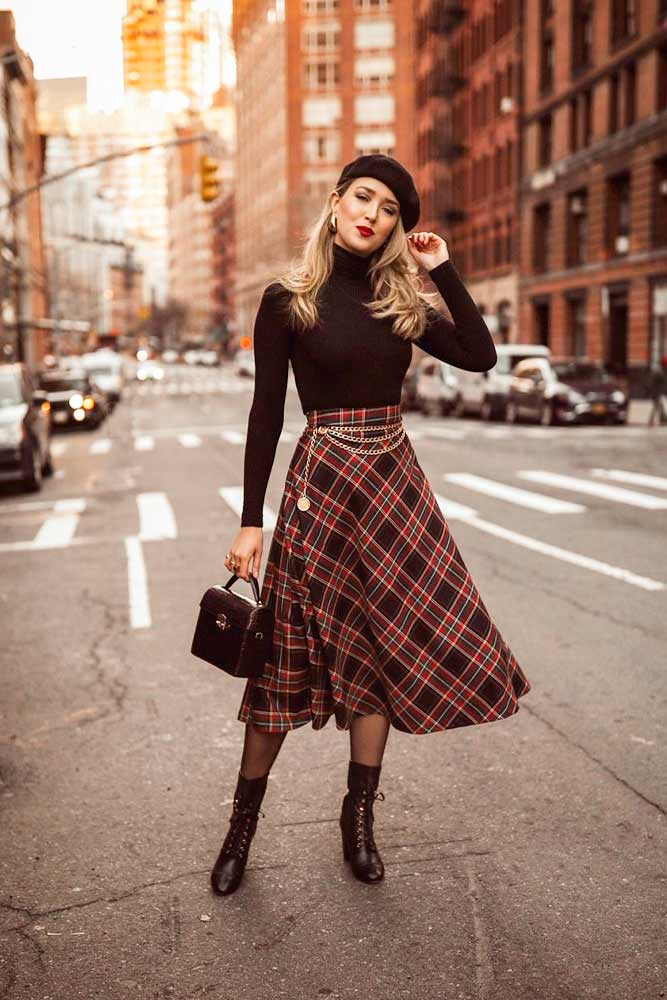 Matching Beret For Casual Outfit #falloutfit #casuallook