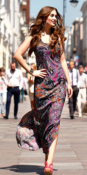 33 Cute Maxi Dresses – From Boho To Evening Styles