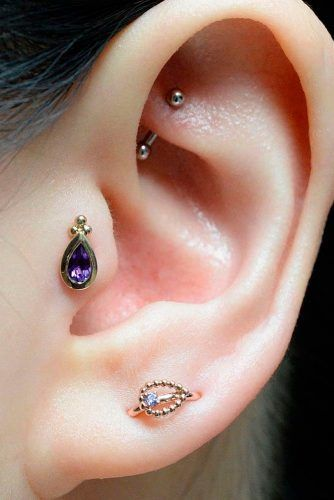Tragus Piercing Helps With Migraines #piercing #beauty
