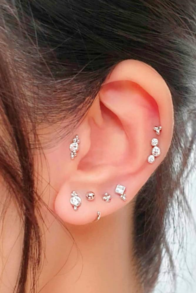 Elegant Tragus Piercing #piercing #beauty
